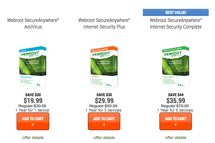 50% Off Webroot SecureAnywhere